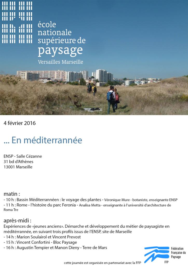 Conférence ENSP 4 Février